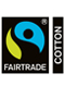 Fairtrade Certified Cotton. Click to find out more.....