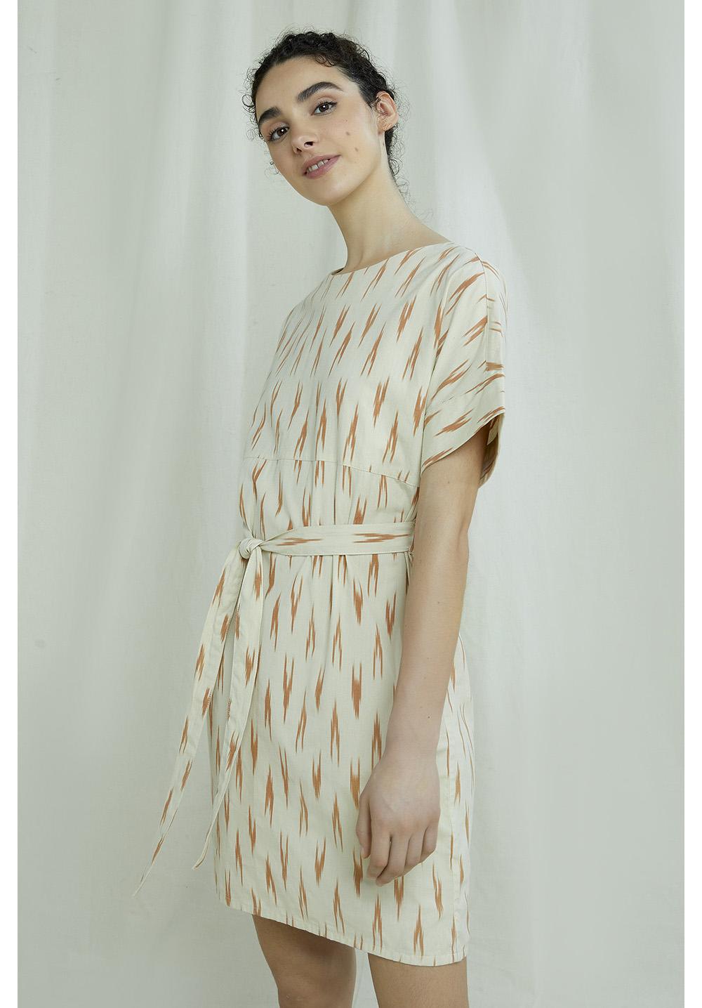 Christabel Ikat Dress 10