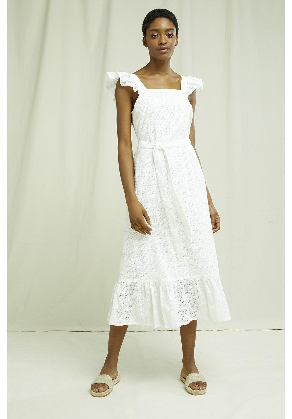 Jaya Broderie Dress 10