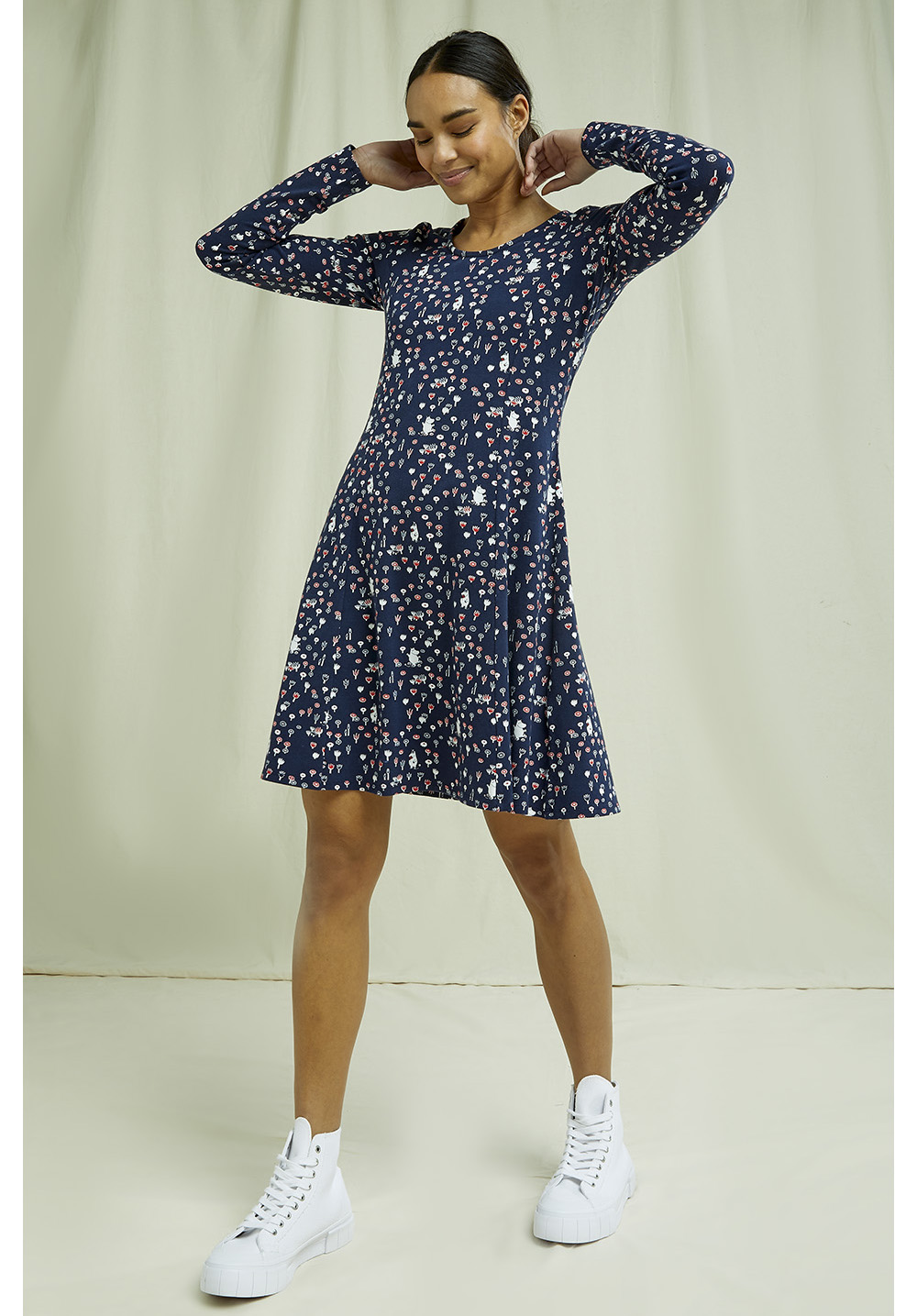 Moomin Scoop Neck Dress 14