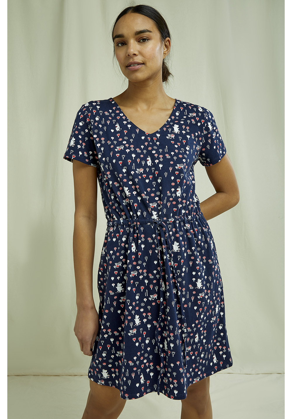 Moomin V-neck Dress 10
