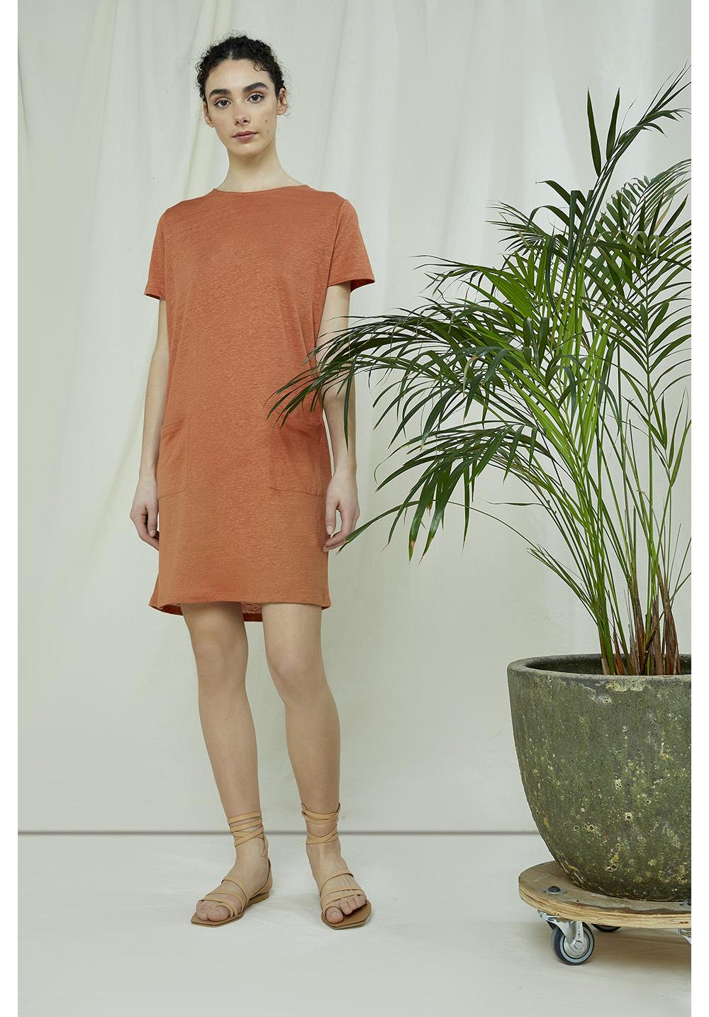 Phoebe Linen Dress