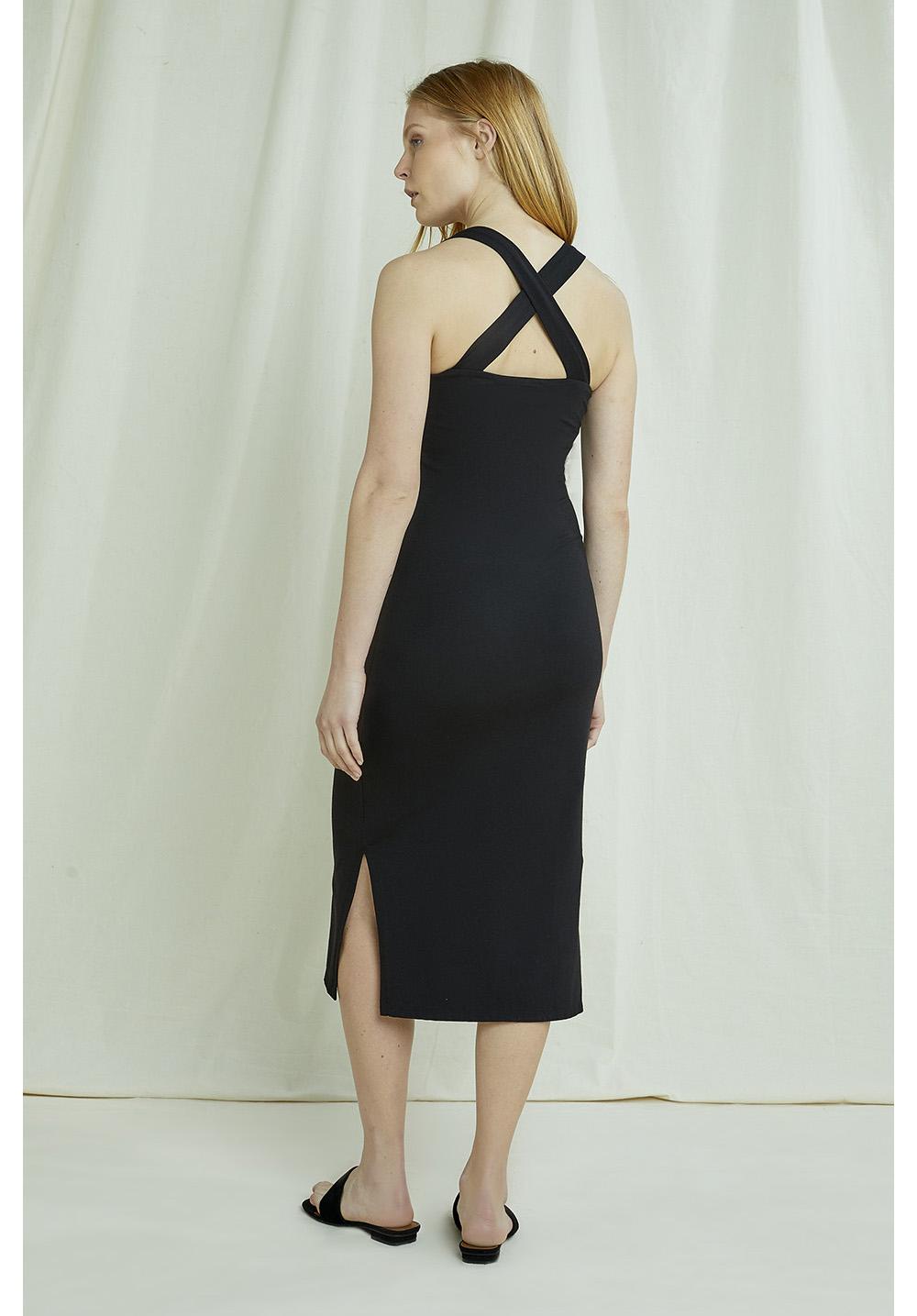 Priti Cross Back Dress 16