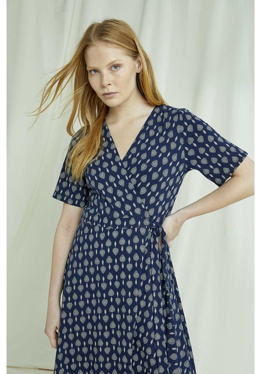 Riya Motif Print Dress