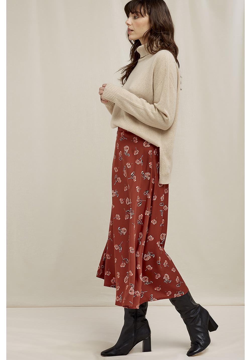 Alison Floral Midi Skirt 10