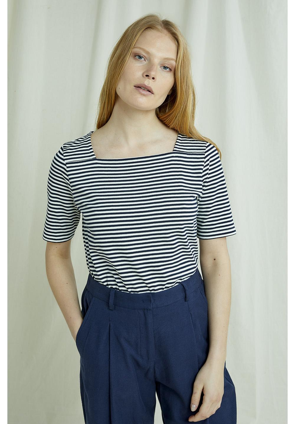 Abigail Stripe Top