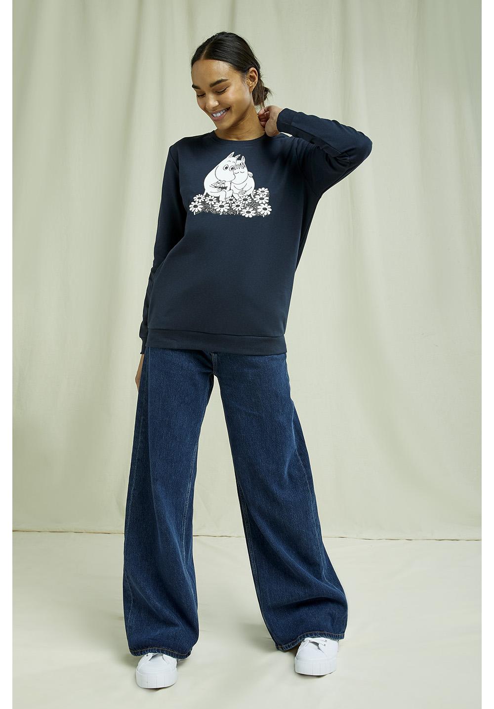 Moomin Sweatshirt In Navy 10