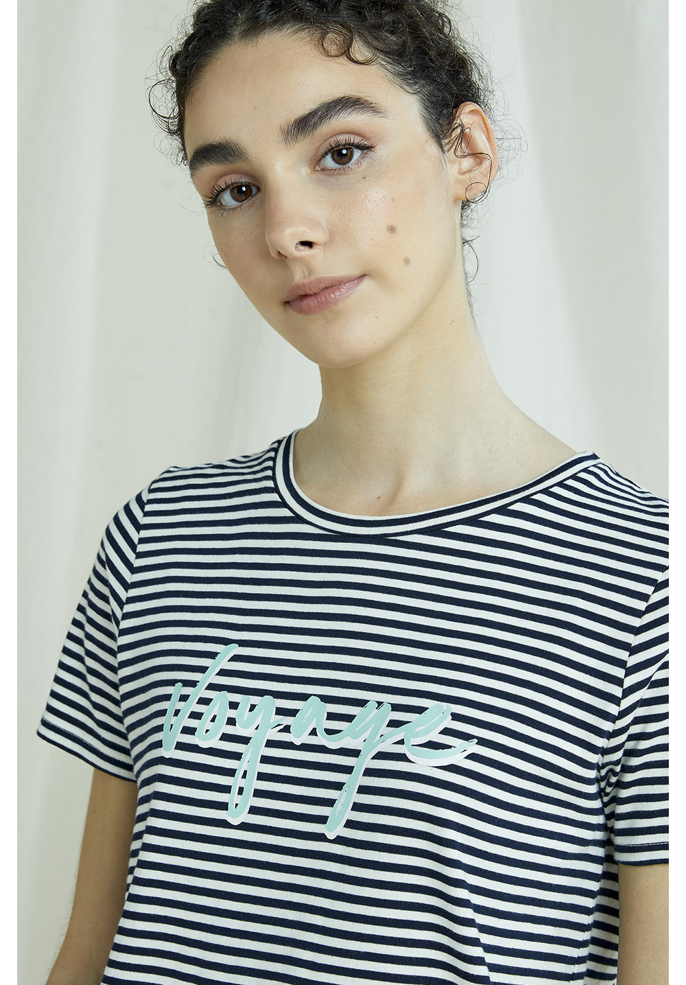 Voyage Stripe Print Tee 16
