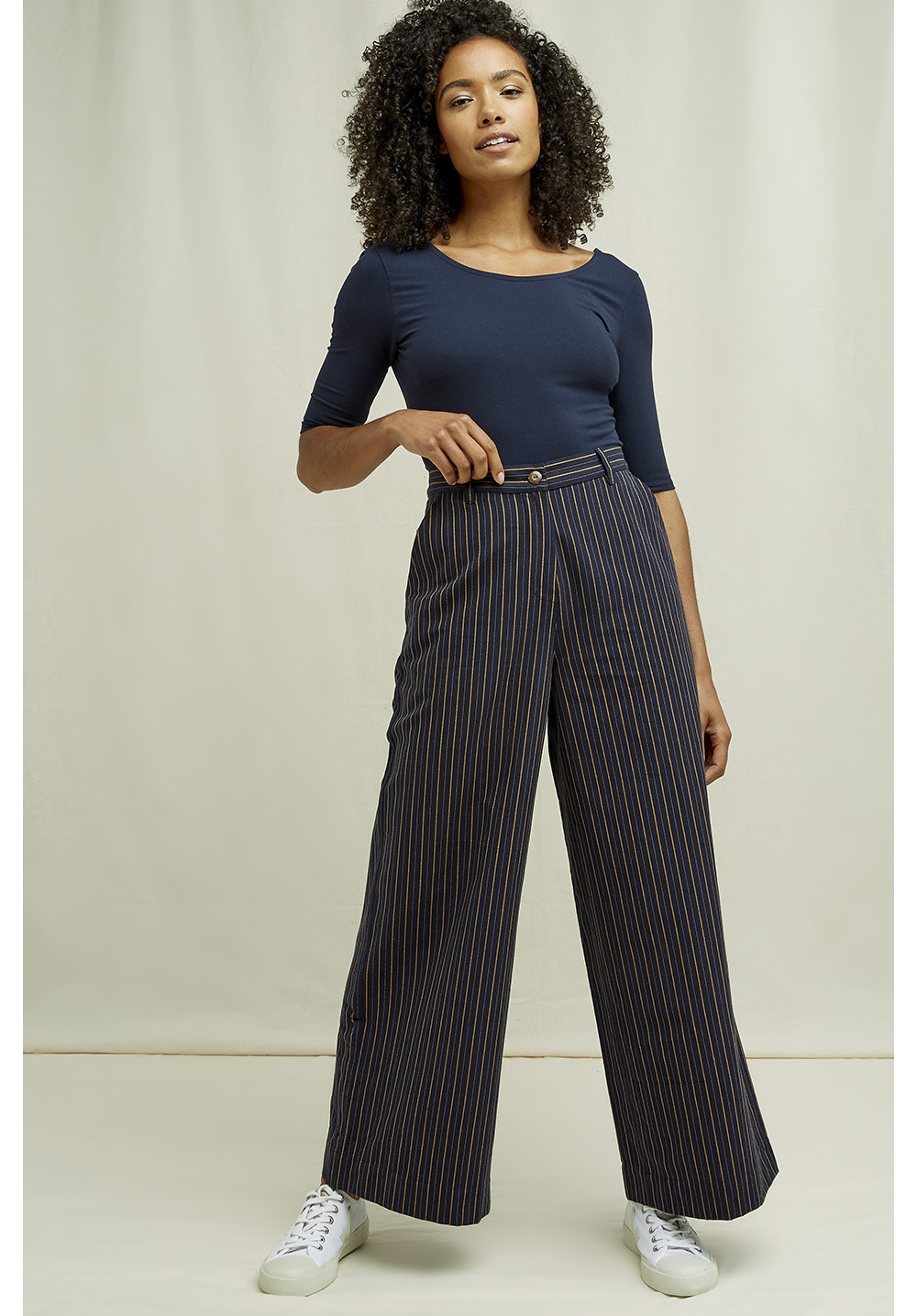 Mila Striped Trousers 12