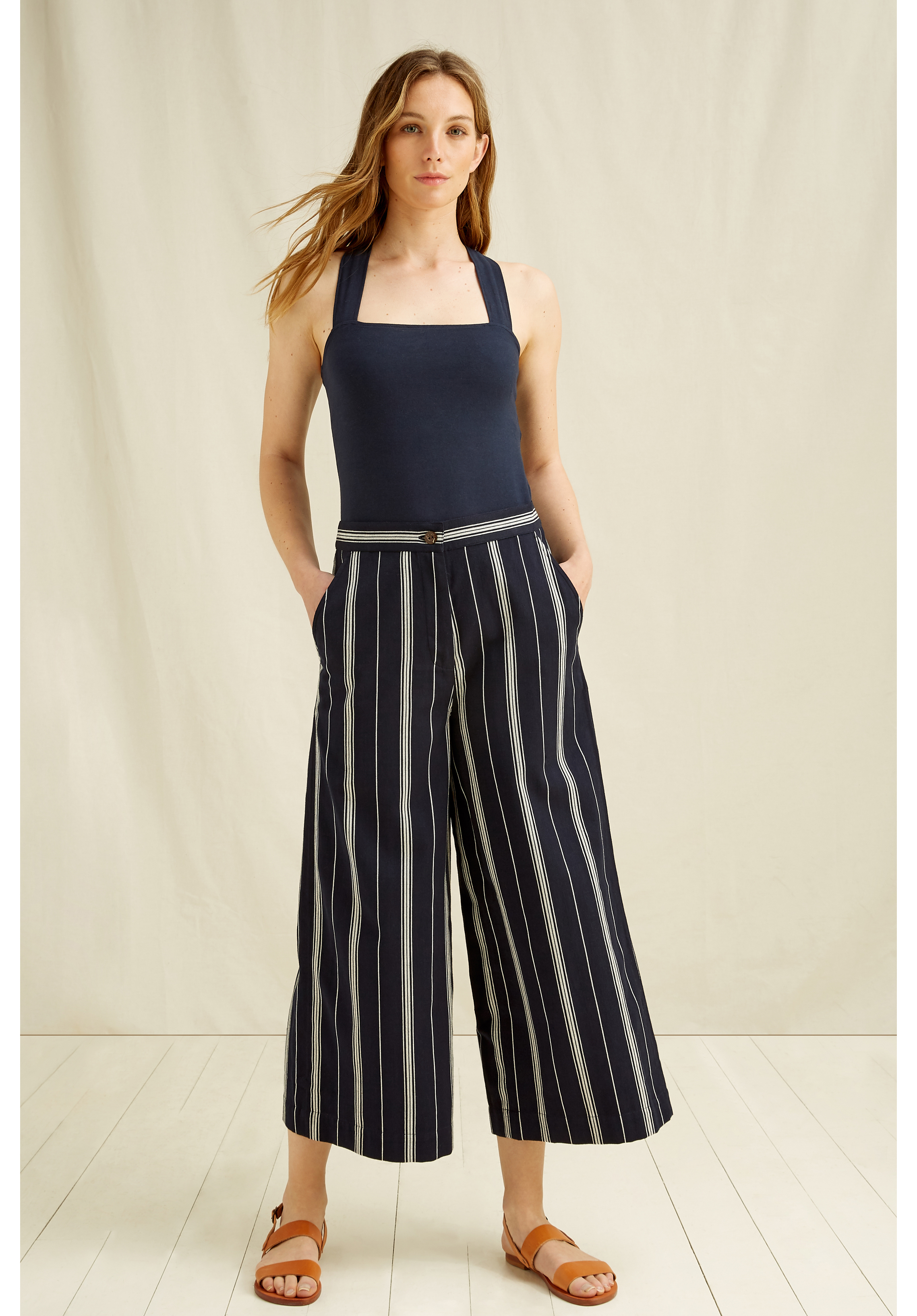 Shauna Stripe Trousers 14