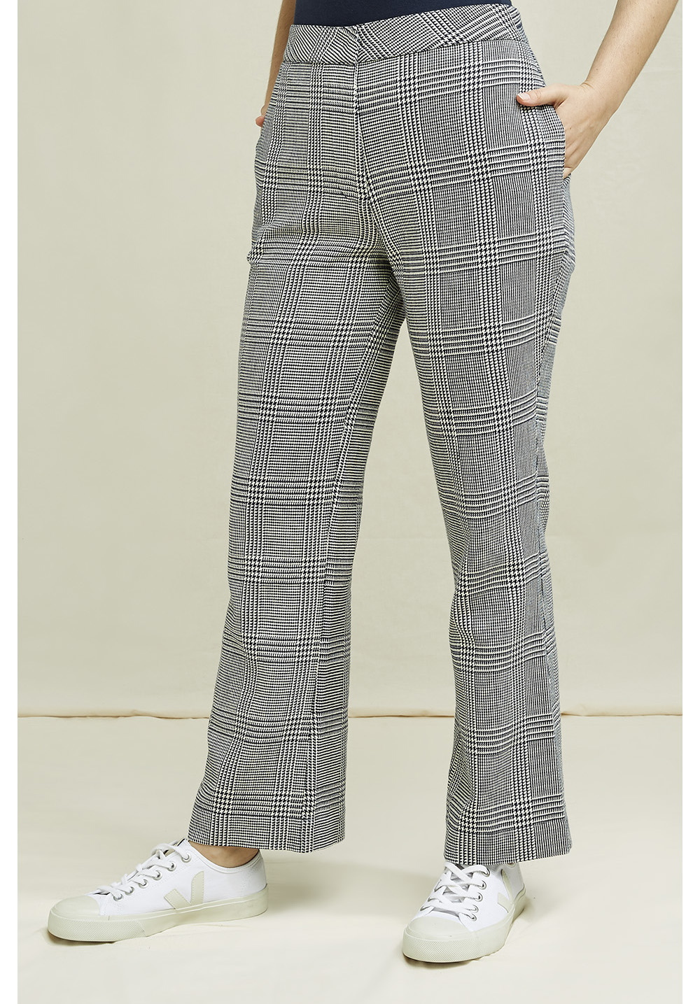 Sienna Checked Trousers