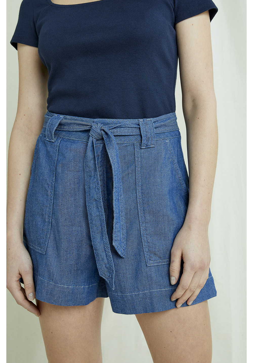 Zahara Lightweight Denim Shorts 10