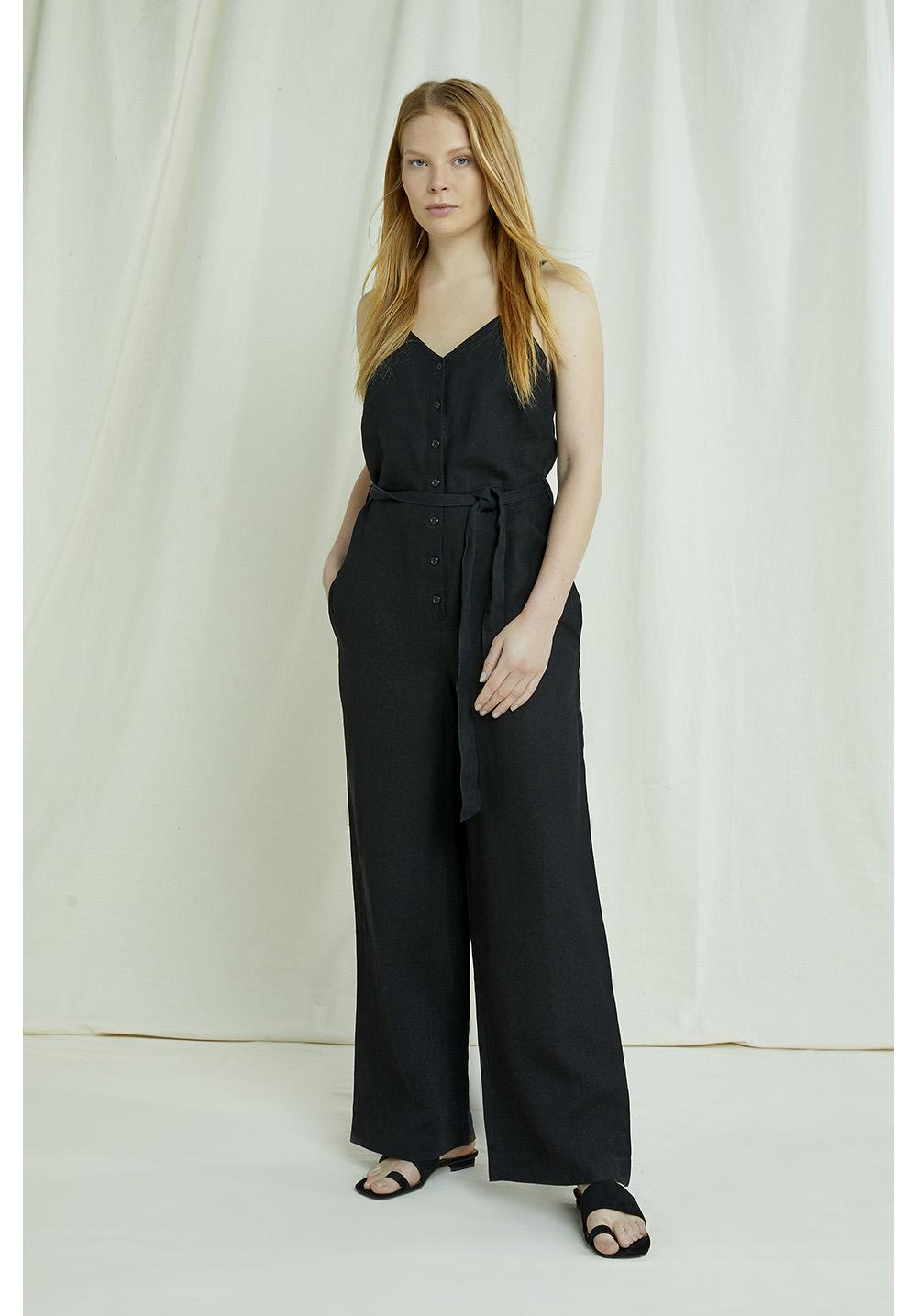 Clara Linen Jumpsuit 8