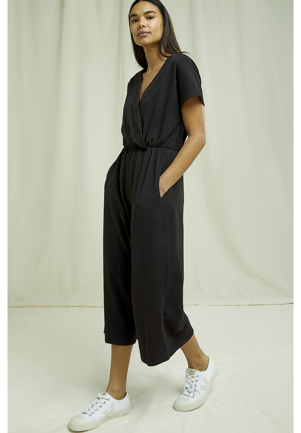 Evelyn Jumpsuit in Black 14