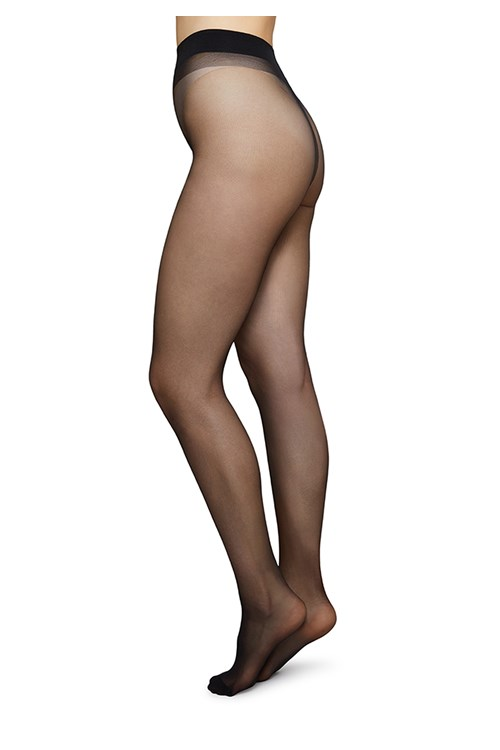 Swedish Stockings 20 Denier Innovation Tights in Black