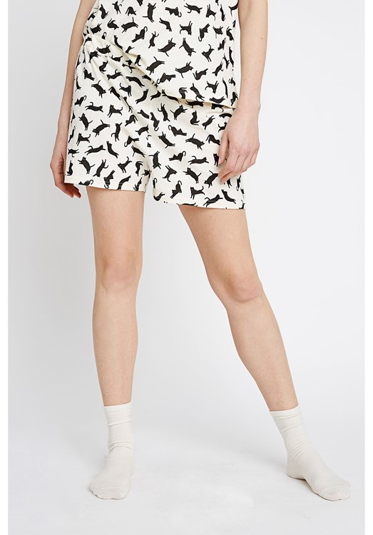 Cat Pyjama Shorts from People Tree