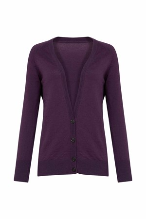 Lucy Cardigan In Purple
