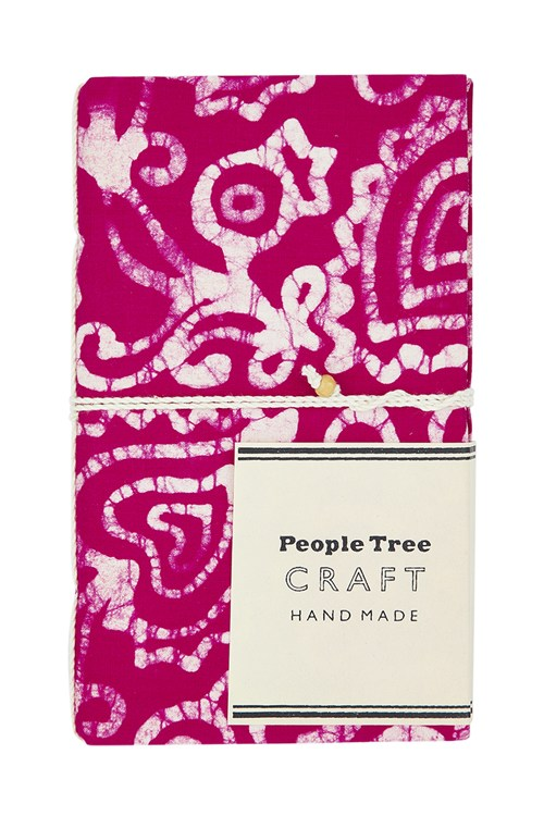 Batik Notebook in Pink