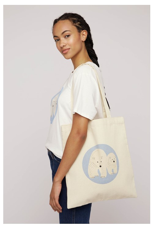 BBC Earth Polar Bear Bag from People Tree
