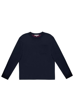 Baxter Top in Navy
