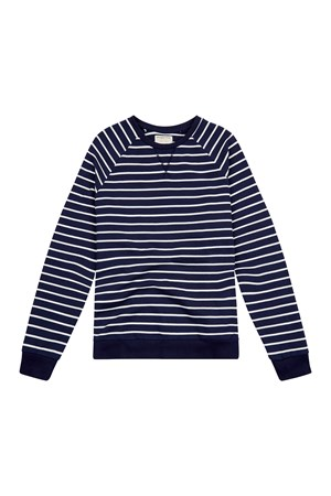 Jack Stripe Sweatshirt in Navy