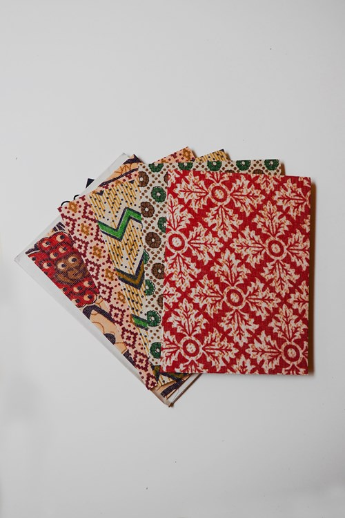 Recycled Sari Cards
