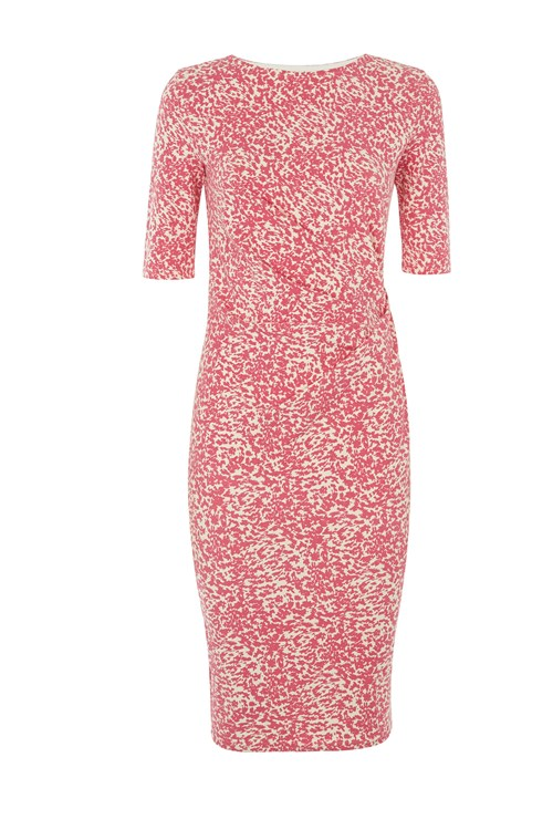 Abigail Abstract Dress in Pink