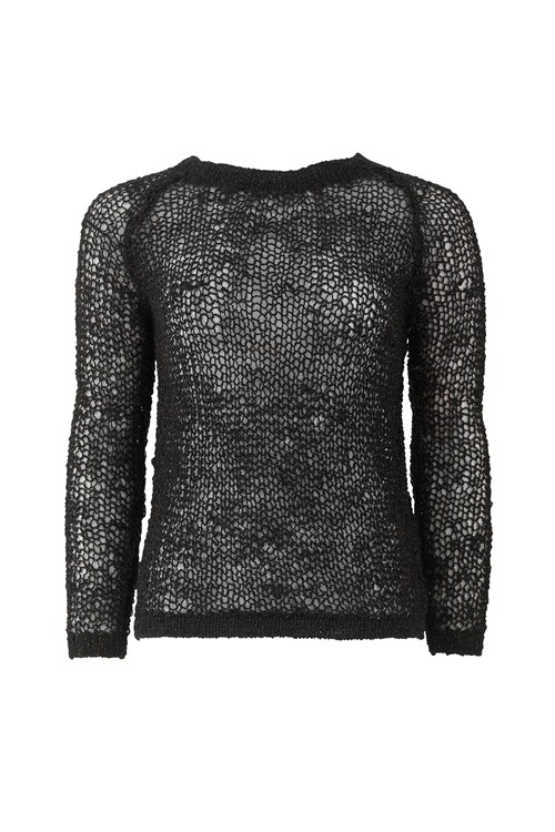 Freya Sparkle Jumper in Black