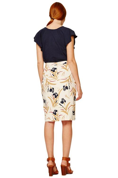 People Tree   Helen Pencil Skirt in Multi