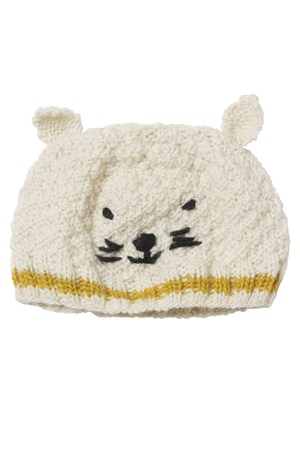 Cat Hat in Yellow Stripe