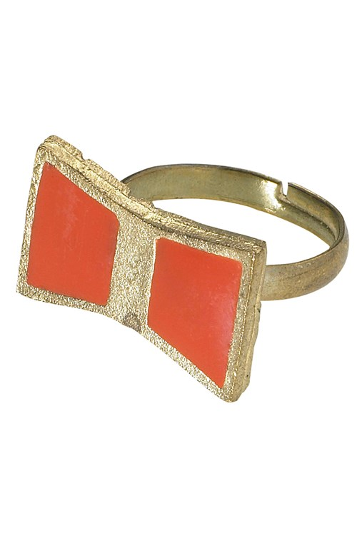 Bow Ring in Red from People Tree