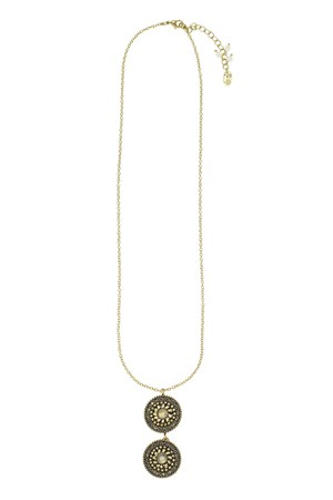 Taja Disk Necklace
