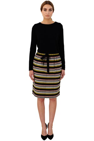 Cora Stripe Skirt