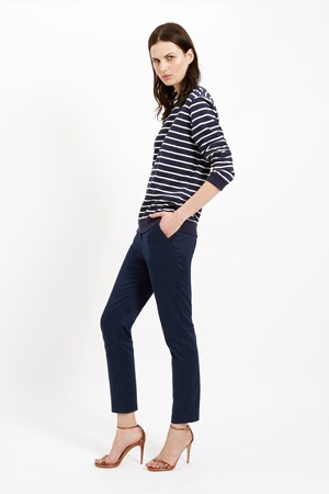 Alba Trousers in Navy