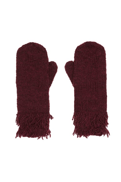 Fringed Gloves from People Tree