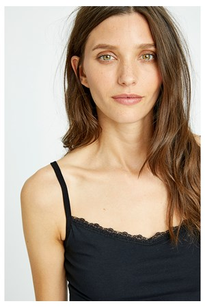 Hidden Support Camisole in Black