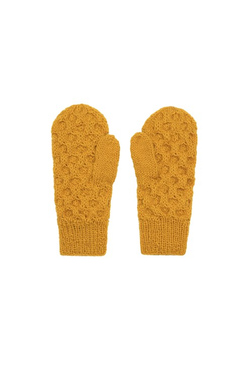 Honeycomb Mittens from People Tree