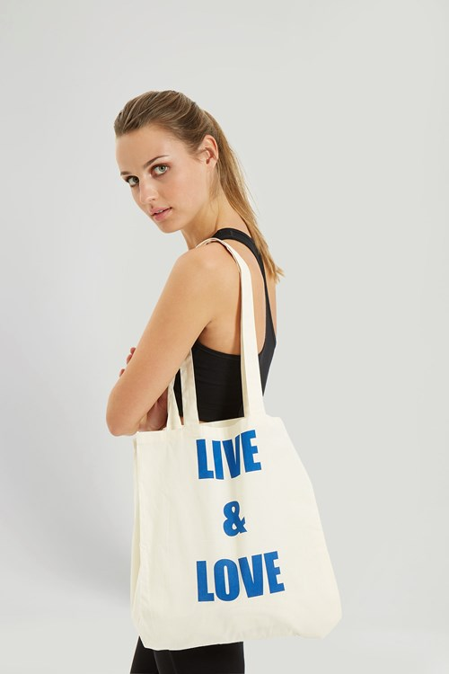 Live & Love Bag in Blue
