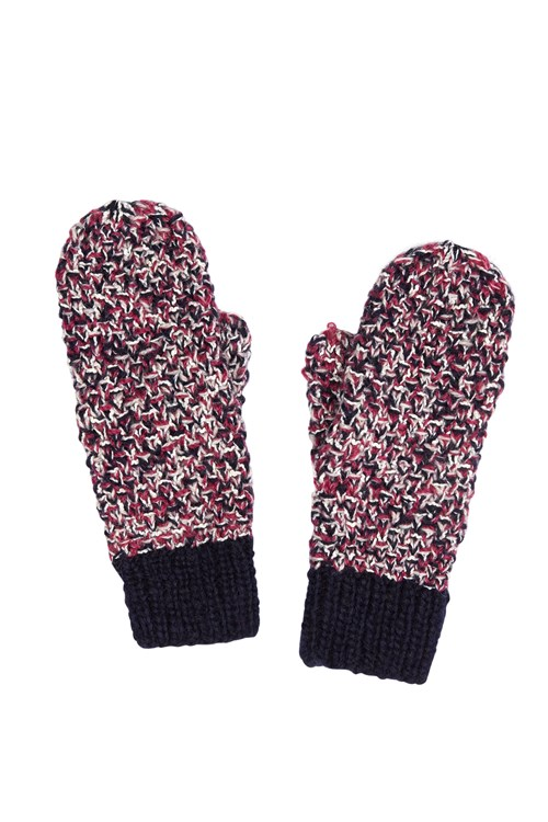 Multi Yarn Mittens