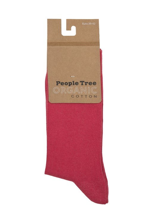 Organic Cotton Socks in Pink