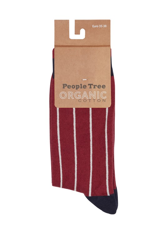 Pinstripe Socks 39-42 from People Tree