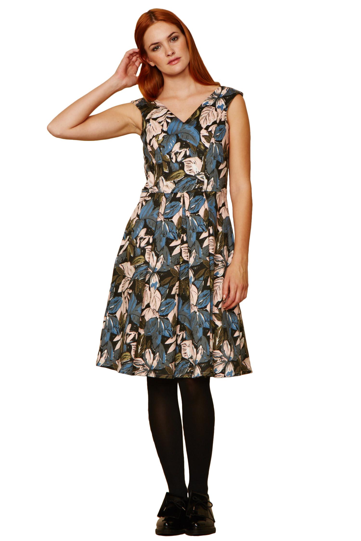 Womens Abby Flared Sleeveless Dress People Tree Cheap Browse ZTXXj6lU