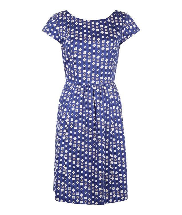 Alice Pocket Dress in Blue from People Tree