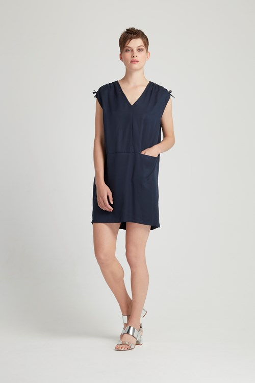 Alison Tunic Dress in Navy from People Tree