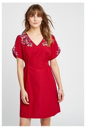 Alyssa Embroidered Dress