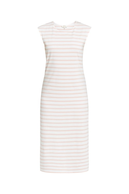 Amelia Stripe Dress in Pink