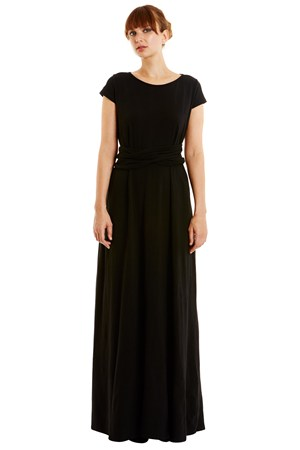 Anya Evening Dress in Black