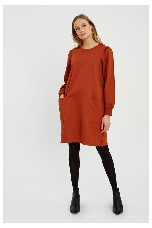 Beth Fleece Dress
