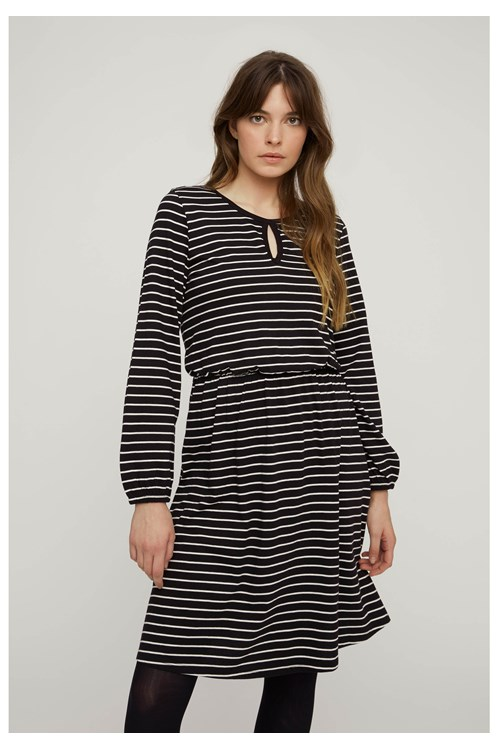 Calandra Stripe Dress