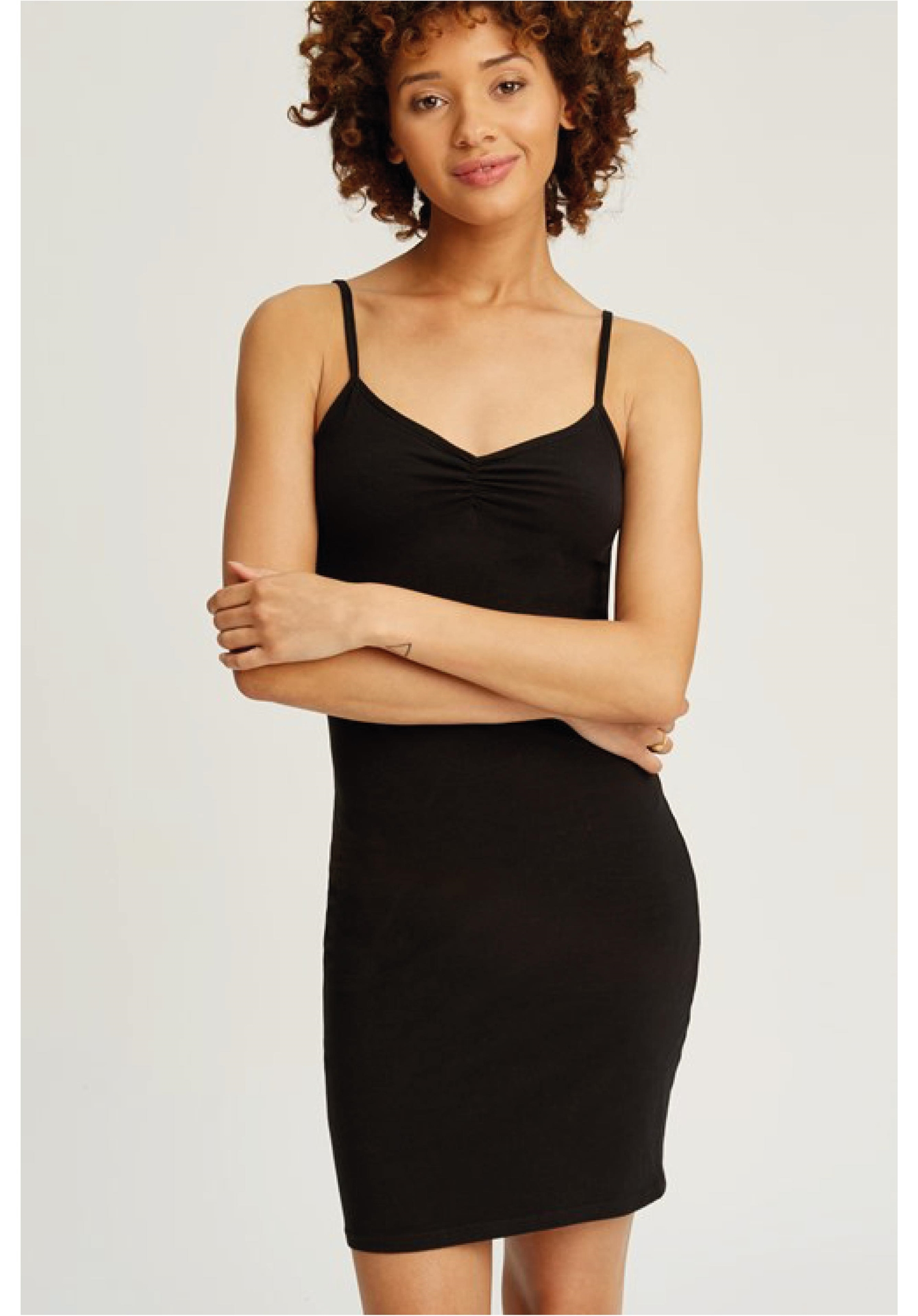 Black Camisole Slip Dress Black Slip Dress All Dress